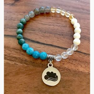 Air wrist mala by Tula Rashi Designs