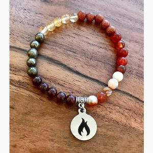 Fire Element Wrist Mala Bracelet by Tula Rashi