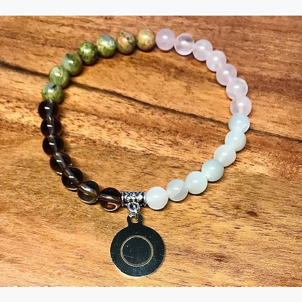 Full Moon Wrist Mala Bracelet by Tula Rashi Designs