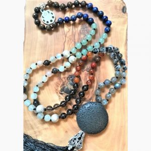 Lunar Goddess Mala - custom made malas in Canada