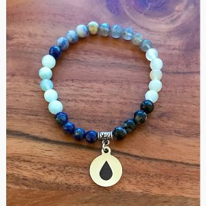 Water Wrist Mala - The Elements Collection